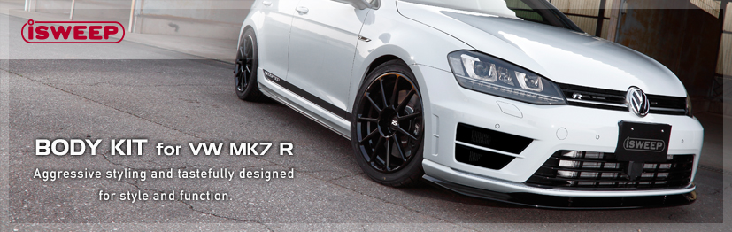 iSWEEP BODY KIT for VW MK7 R